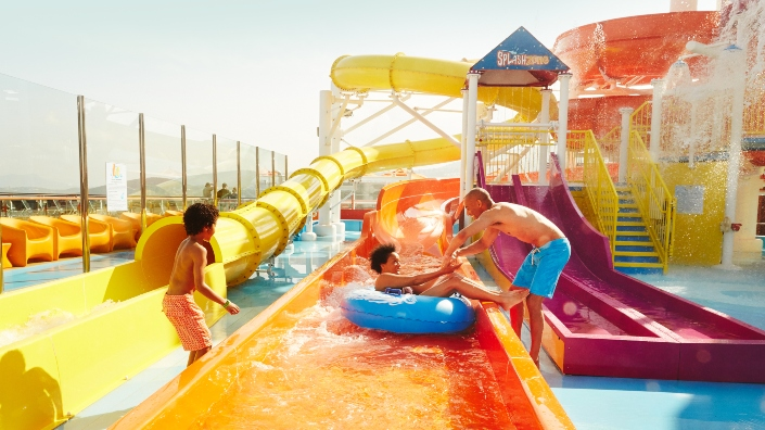 Carnival Cruises Waterpark