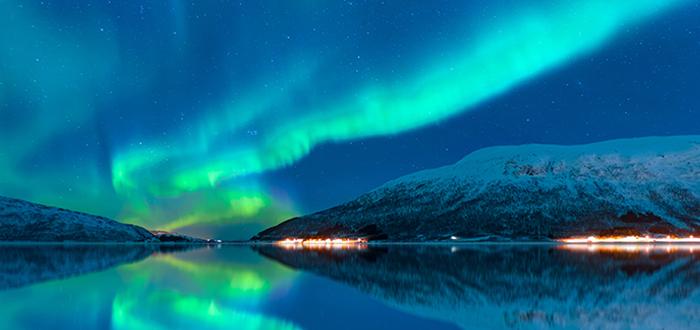 Aurora Boreal:Fiordos Noruegos