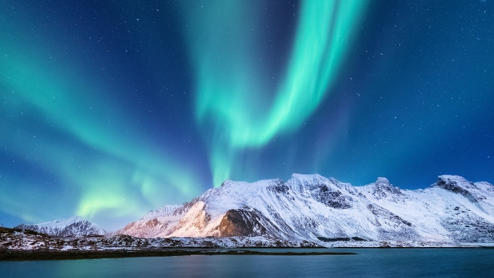 Norwegian Fjords cruise holiday Northern Lights