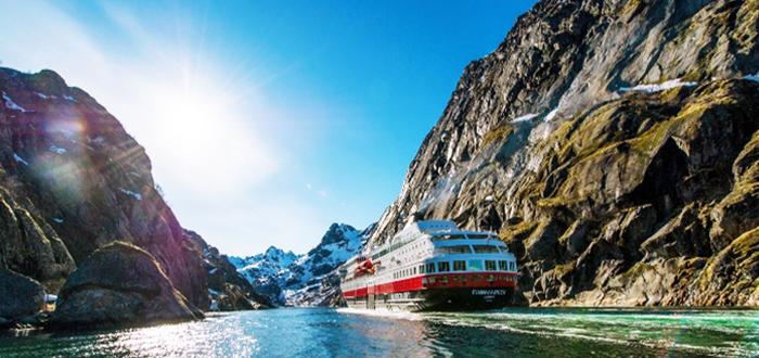 Navegación por los fiordos