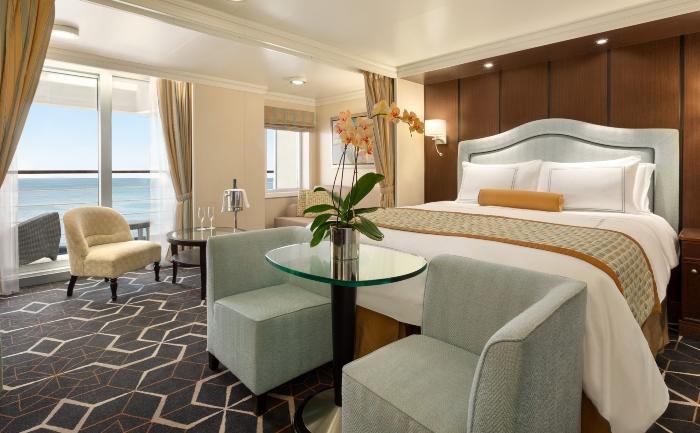 Oceania Riviera luxury cruise ship