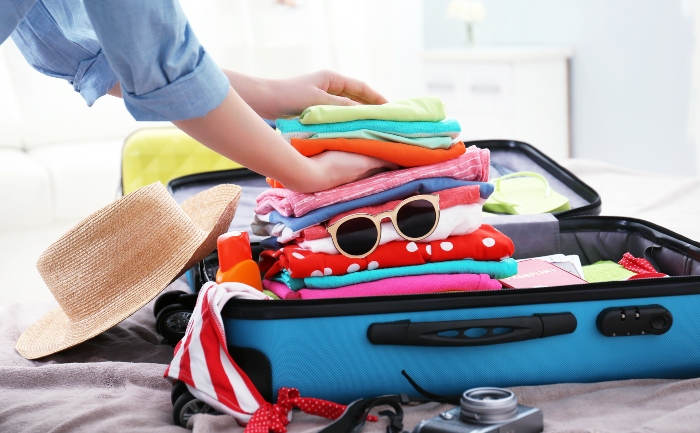 Top tips for packing for your fly-cruise