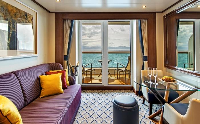 Seabourn Ovation luxury cruise ship