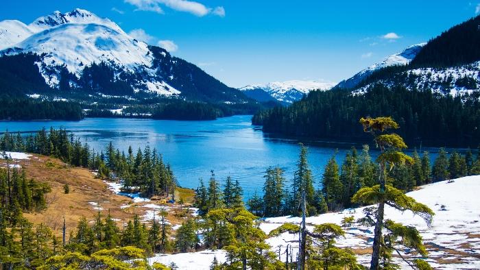 Around the world cruises Alaska