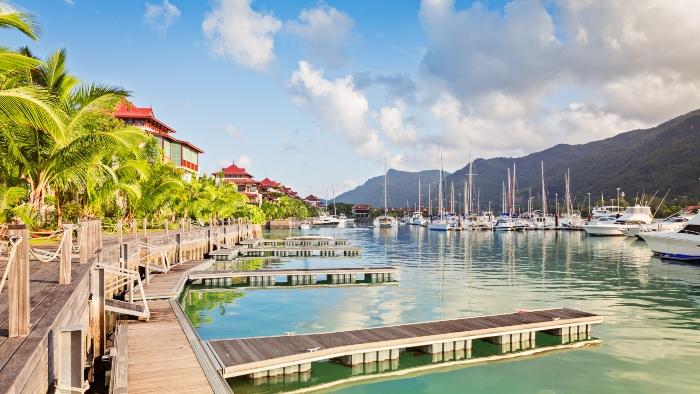 Around the world cruises Seychelles