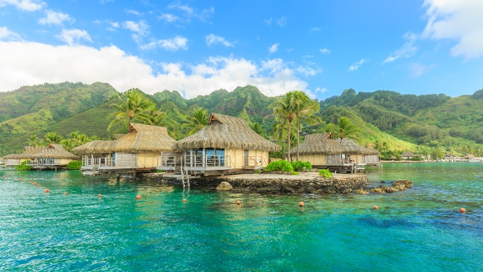 Around the world cruises Tahiti