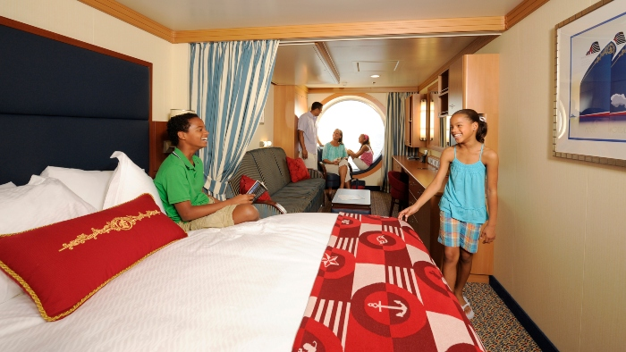 cruise ship rooms family room