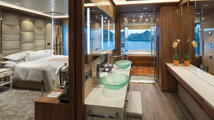 cruise ship suite