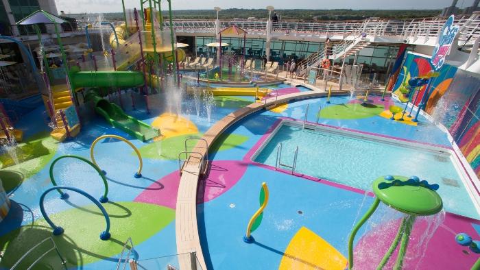 royal caribbean family friendly activities splashaway bay