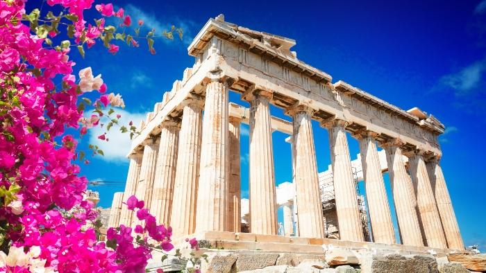 Greek islands hopping cruise Athens