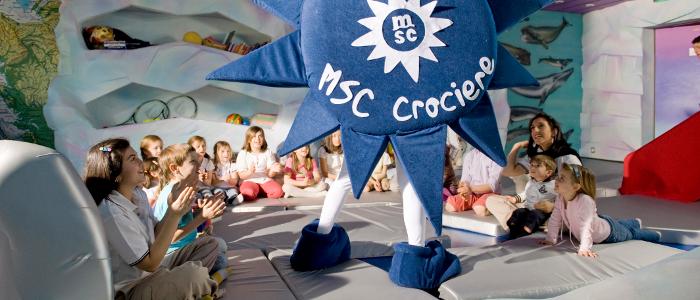 msc cruises kids club
