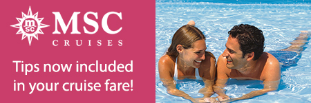 msc cruises tips included