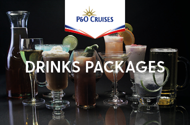 P&O drink packages
