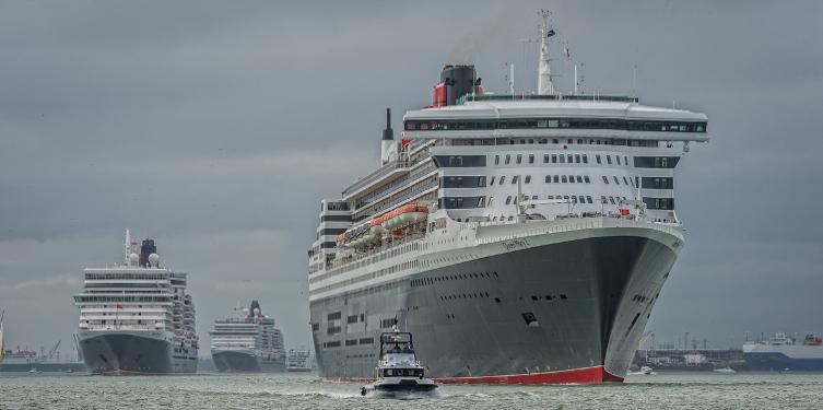 Cunard in Southampton