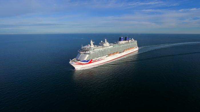 where are cruise ships P&O