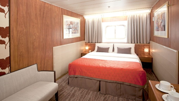 cruise ship rooms outside cabin