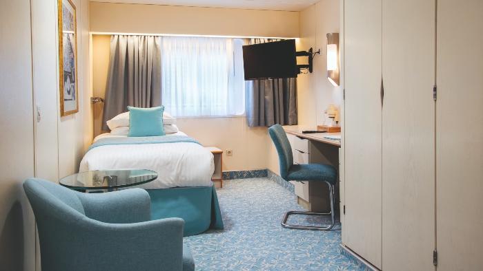cruise ship rooms solo cabin